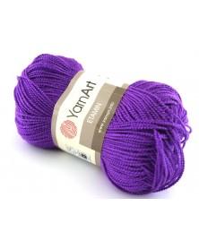 Włóczka Etamin Yarn Art kolor fioletowy 431