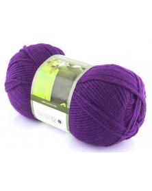 Włóczka Merino Exclusive kolor 781 ciemny fiolet