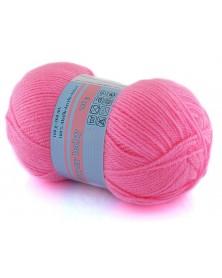 Włóczka Super Baby kolor 040 intensywny róż