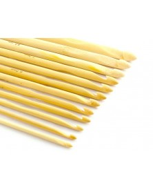 Zestaw szydełek bambusowych
