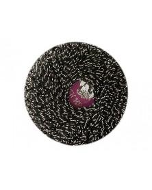 Kordonek Garden Metalic kolor czarny  ze...