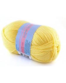 Włóczka Super Baby kolor 027 jasny żółty