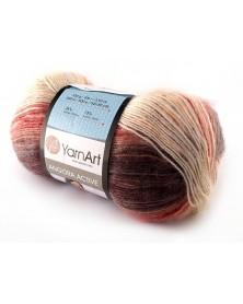 Angora Active kolor 851 odcienie beżu, rudości...
