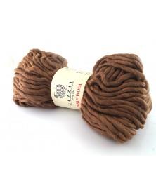 Włóczka Pure Wool Gazzal kolor 5245 jasny brąz