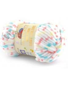 Włóczka Dolphin Baby Colors kolor 15 biały,...