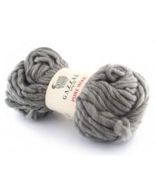 Włóczka Pure Wool Gazzal kolor 5248 jasny szary