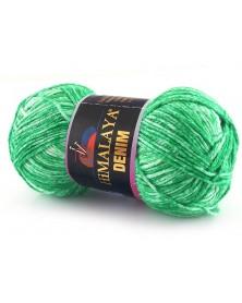 Włóczka Denim kolor zielony 15