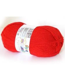 Włóczka Super Baby kolor 033 ciemna czerwień