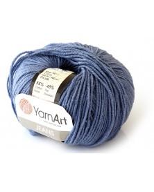 Włoczka Jeans Yarn Art kolor jeansowy 68