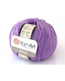 Włoczka Jeans Yarn Art kolor fiolet 72