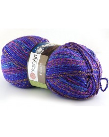 Włóczka Everest kolor 7042 odcienie fioletu,...