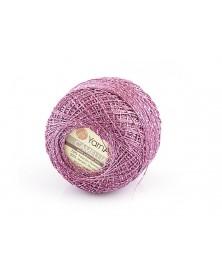 Kordonek Camellia kolor fiolet ze srebrna nitką...