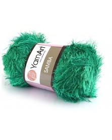 Włóczka Samba kolor trawiasta zieleń 78