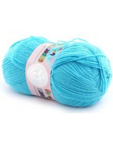Włóczka Super Baby kolor 023 turkus