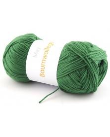 Włóczka Baumwollegarn kolor 62 zielony