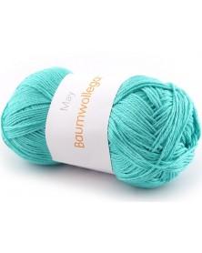 Włóczka Baumwollegarn kolor 65 jasny turkus