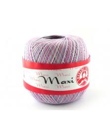 Kordonek Maxi kolor odcienie różu i białego 6051