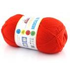 Włóczka Medical Baby kolor 33 ostra czerwień