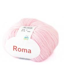 Włóczka Roma kolor 04 jasny róż