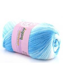 Włóczka Sweet Baby 324 niebieski ecru