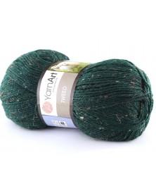 Włóczka Tweed zielony 232