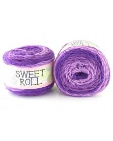 Włóczka Sweet Roll 01 odcienie fioletów