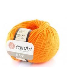 Włoczka Jeans Yarn Art kolor pomarańczowy 77
