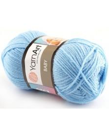 włóczka Baby YarnArt 215 niebieski