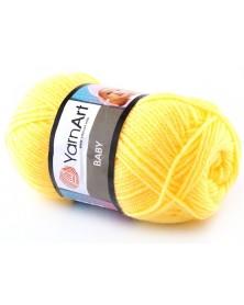 włóczka Baby YarnArt 315 żółty