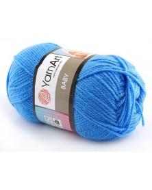 włóczka Baby YarnArt 600 niebieski