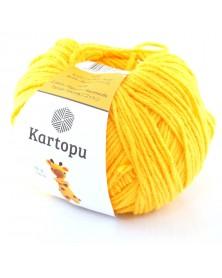 Włóczka Amigurumi kolor 322 ciemny żółty