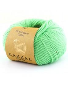 Włóczka Organic Baby Cotton 421 jasny zielony