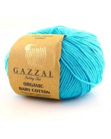 Włóczka Organic Baby Cotton 424 turkusowy