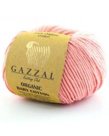 Włóczka Organic Baby Cotton 425 ciemny łosoś