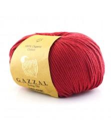 Włóczka Organic Baby Cotton 429 ciemna czerwień