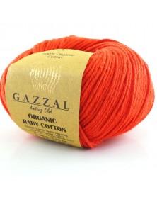 Włóczka Organic Baby Cotton 432 czerwony