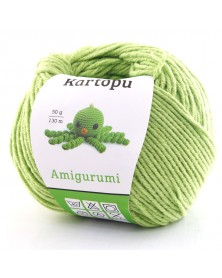 Włóczka Amigurumi kolor 1390 zielony
