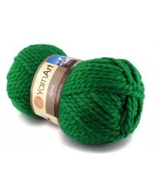 Włóczka Alpine Yarn Art kolor zielony 337