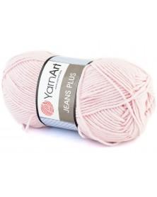 Włóczka Jeans Plus kolor różowy 18