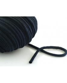 Sznurek bawełniany 5 mm ciemny granat
