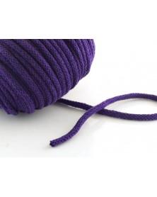 Sznurek bawełniany 5 mm śliwka