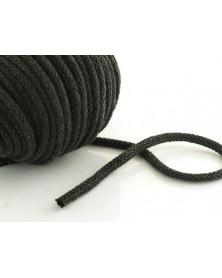 Sznurek bawełniany 5 mm czarny