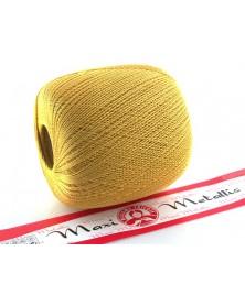 Maxi Metallic kolor żółty ze złotą nitką 26347