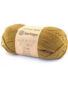 Włóczka Melange Wool kol 4001 oliwka