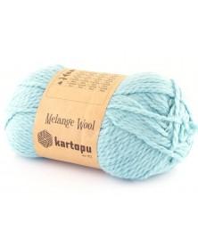 Włóczka Melange Wool kol 5017 jasny turkus