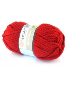 Włóczka Alpine Maxi kolor 667 czerwony