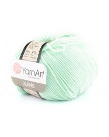 Włoczka Jeans Yarn Art kolor mięta 79