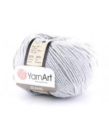Włoczka Jeans Yarn Art kolor szary 80
