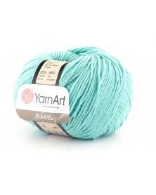Włoczka Jeans Yarn Art kolor lazurowy 81