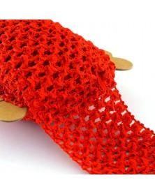 Guma TUTU szer 7 cm kolor czerwony
